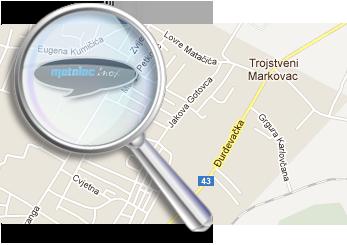Metalac Bjelovar - Karta